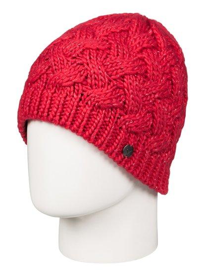 Love And Snow - Gorro para Mujer - Rojo - Roxy