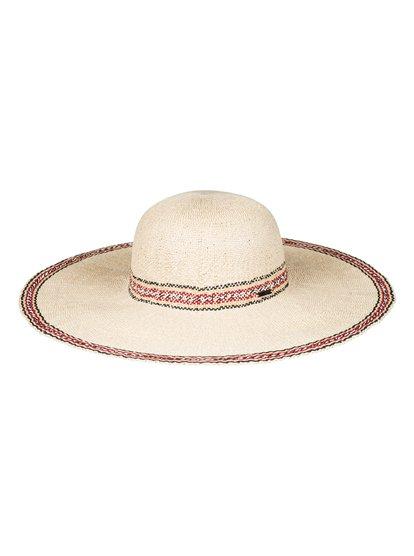 Under The Coconuts - Sombrero Protector de Paja para Mujer - Amarillo - Roxy