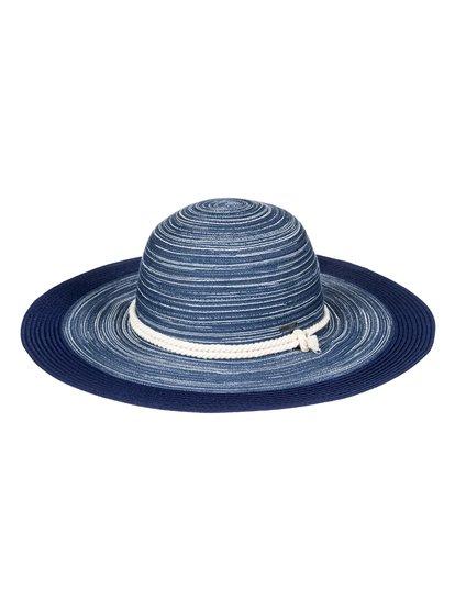 Ocean Dream - Sombrero Protector de Paja para Mujer - Azul - Roxy