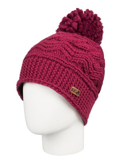 Winter - Gorro con pompón para Mujer - Rojo - Roxy