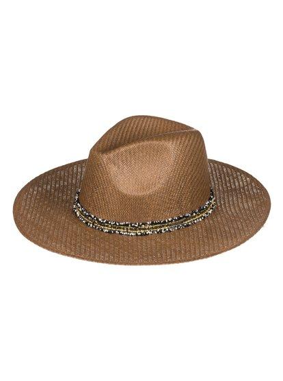 Here We Go - Sombrero Protector de Paja para Mujer - Marron - Roxy