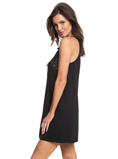 Enchanted Island - Vestido de Tirantes para Mujer - Negro - Roxy