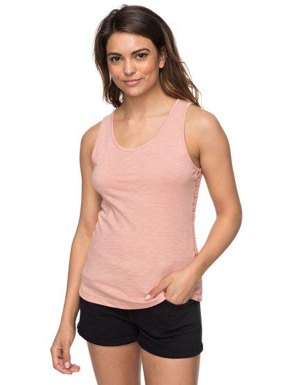 Aloha Sun - Camiseta de Tirantes para Mujer - Rosa - Roxy
