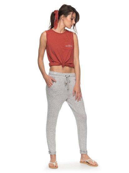 Cozy Chill - Pantalón de Chándal para Mujer - Gris - Roxy