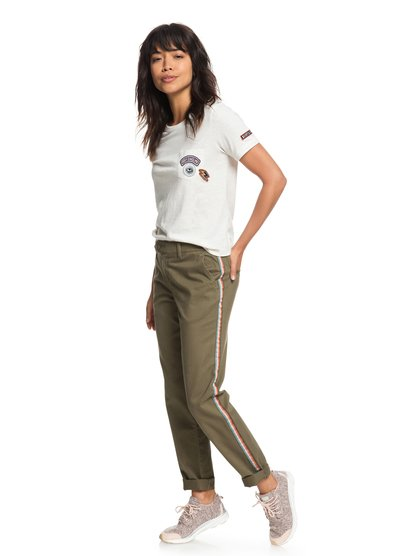 Poetry Soul - Chinos para Mujer - Verde - Roxy