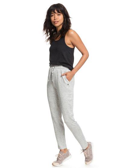Breath A New Day - Pantalón de chándal para Mujer - Gris - Roxy