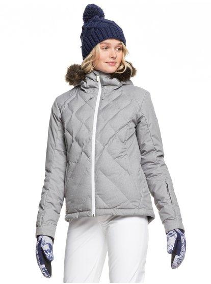 Breeze - Chaqueta para Nieve para Mujer - Gris - Roxy