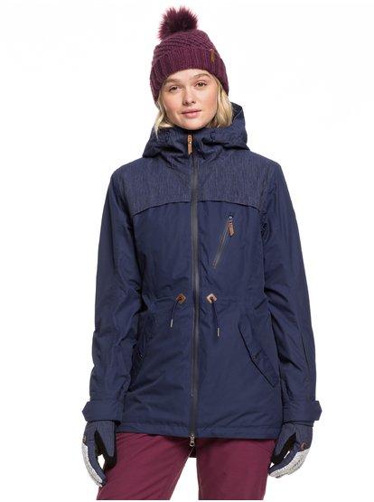 Stated - Chaqueta para Nieve para Mujer - Azul - Roxy