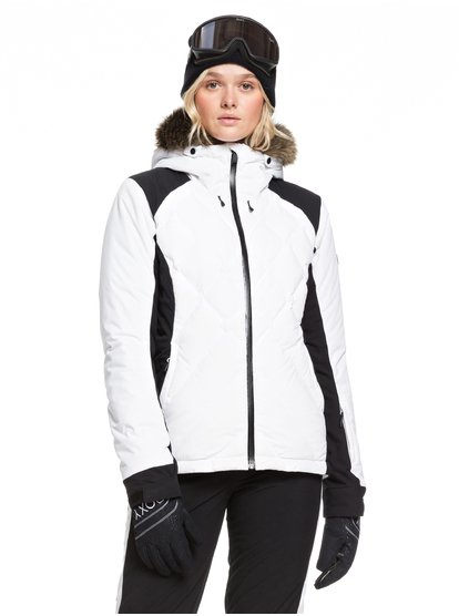 Breeze Mountain - Chaqueta para Nieve para Mujer - Blanco - Roxy