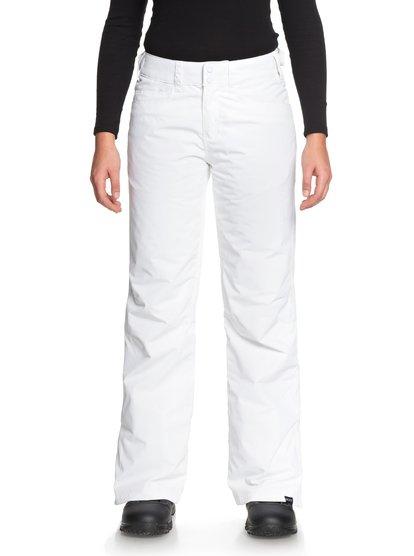 Backyard - Pantalones Para Nieve para Mujer - Blanco - Roxy
