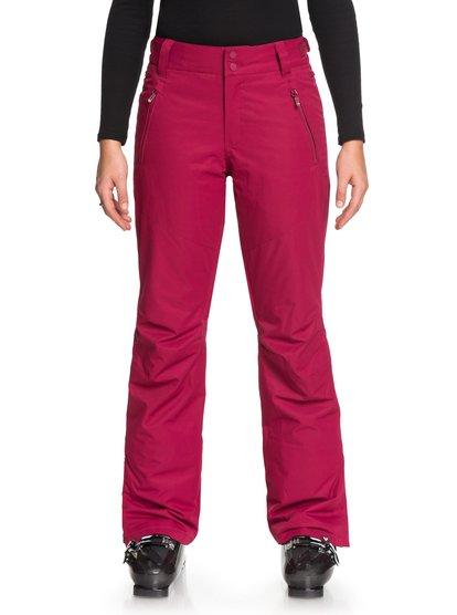 Winterbreak - Pantalones Para Nieve para Mujer - Rojo - Roxy