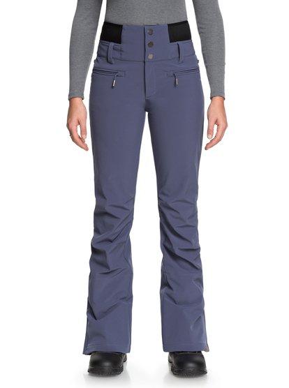 Rising High - Pantalón shell para nieve para Mujer - Azul - Roxy