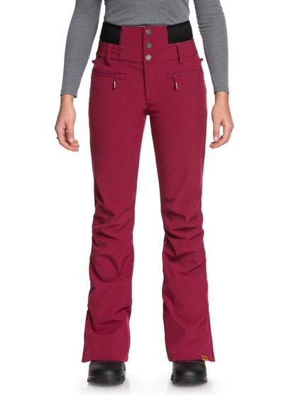 Rising High - Pantalón shell para nieve para Mujer - Rojo - Roxy