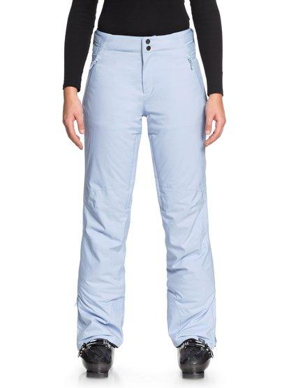 Down The Line - Pantalones Para Nieve para Mujer - Azul - Roxy