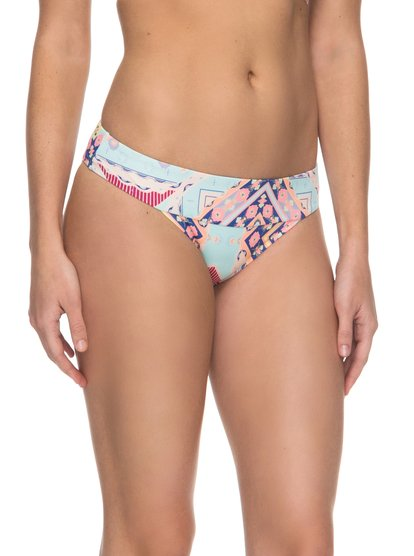 Aloha ROXY - Braguita de Bikini con Tira Lateral Ancha para Mujer - Multicolor - Roxy