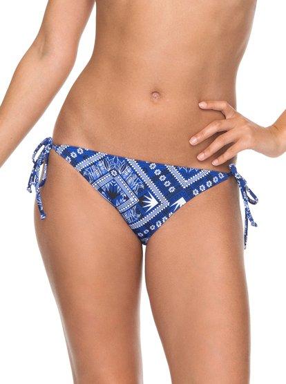 ROXY Essentials - Braguita de Bikini con Tira Lateral Ancha para Mujer - Azul - Roxy