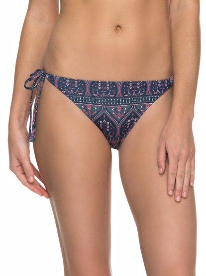 Sun, Surf And ROXY - Braguita de Bikini con Tira Lateral Ancha para Mujer - Multicolor - Roxy