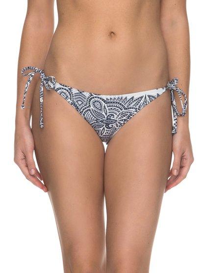 Girl Of The Sea - Braguita de Bikini con Tira Lateral Ancha para Mujer - Blanco - Roxy