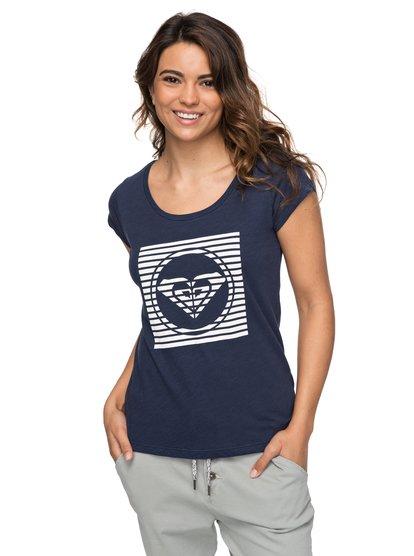 Bobby A - Camiseta para Mujer - Azul - Roxy