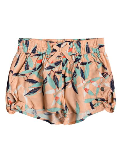 West South - Short de Viscosa para Chicas 2-7 - Rosa - Roxy