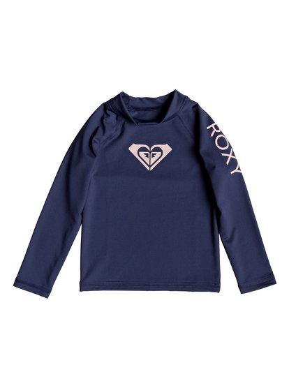 Whole Hearted - Licra de Manga Larga con Protección Solar UPF 50 para Chicas 2-7 - Azul - Roxy