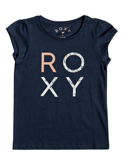 Moid B - Camiseta para Chicas 2-7 - Azul - Roxy