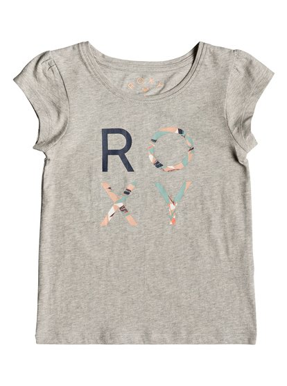 Moid B - Camiseta para Chicas 2-7 - Gris - Roxy