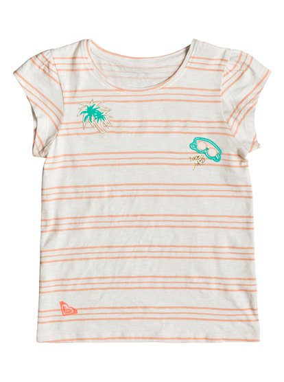 Soft Filters A - Camiseta para Chicas 2-7 - Blanco - Roxy