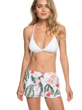 록시 러브 보드숏 수영복 Roxy Love 4.5 Boardshorts,BRIGHT WHITE TROPICAL LOVE SWI (wbb7)