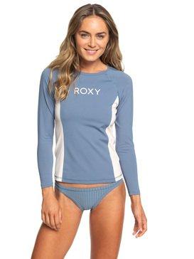 록시 래쉬가드 Roxy On My Board Long Sleeve UPF 50 Rash Guard,BLUE MIRAGE (bmk0)