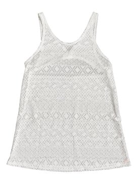 록시 Roxy Garden Summers Crochet Beach Dress,BRIGHT WHITE (wbb0)