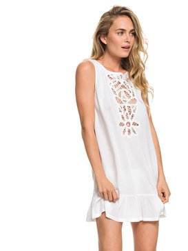 록시 Roxy Goldy Soul Beach Tank Dress,BRIGHT WHITE (wbb0)