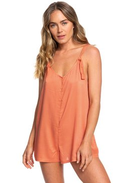록시 Roxy Cutty Heart Strappy Romper,CARNELIAN (nkw0)
