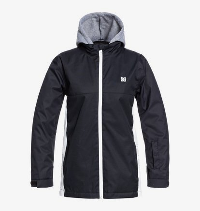 Academy - Snowboard Jacket for Boys 8-16 - Black - DC Shoes