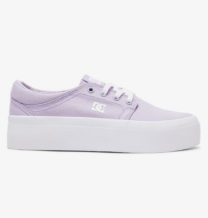 Sneaker DC Shoes Women's Trase Platform TX Flatform Shoes - Violeta - DC Shoes