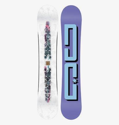 Biddy - Snowboard pour Femme - Gris - DC Shoes