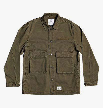 Admiral Workwear Jacket for Men - Brown - DC Shoes