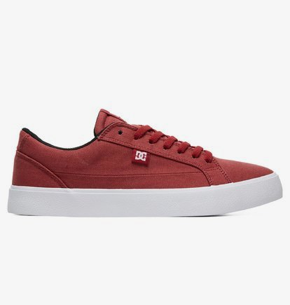 Lynnfield TX - Baskets pour Homme - Rouge - DC Shoes
