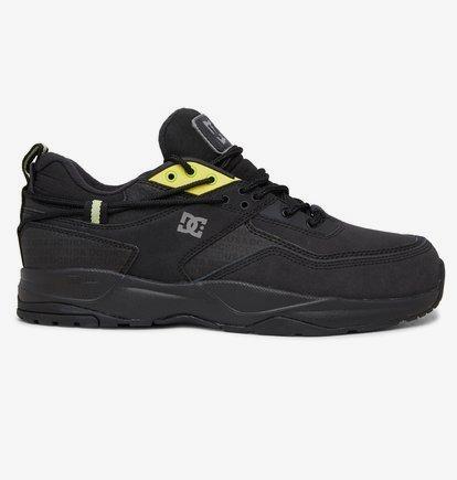 Sneaker DC Shoes E.Tribeka WNT - Zapatillas de Invierno en Cuero para Hombre - Negro - DC Shoes