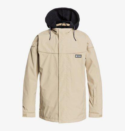 Agent - Snowboard Jacket for Men - Beige - DC Shoes