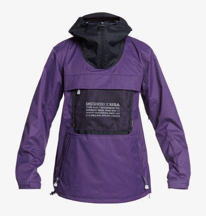 ASAP-Shell-Anorak-Snow-Jacket-for-Men-Purple-DC-Shoes