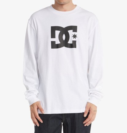 T-Shirts, Polos & Tops DC Star - Long Sleeve T-Shirt for Men - White - DC Shoes