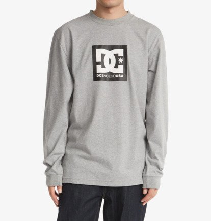 T-Shirts, Polos & Tops DC Square Star - Long Sleeve T-Shirt for Men - Black - DC Shoes