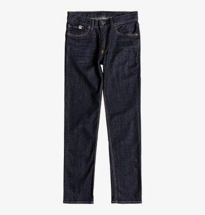 Worker Indigo Rinse - Jean slim pour garçon 8-16 ans - Bleu - DC Shoes