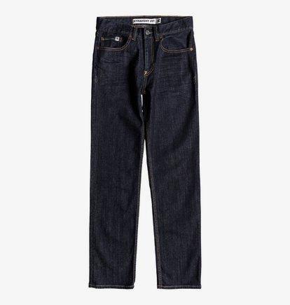Worker Indigo Rinse - Jean coupe droite pour Garçon 8-16 ans - Bleu - DC Shoes