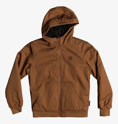 Ellis - Veste à capuche déperlante pour Garçon 8-16 ans - Orange - DC Shoes