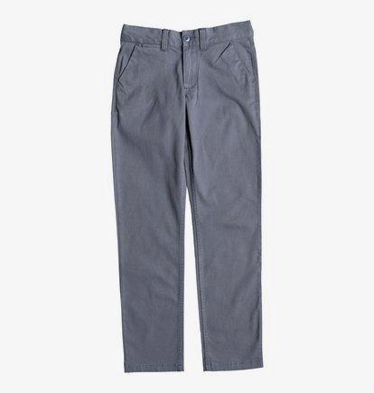 Worker - Pantalon chino pour Garçon 8-16 ans - Bleu - DC Shoes