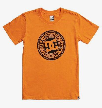 Circle Star - T-shirt pour Garçon 8-16 ans - Orange - DC Shoes