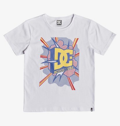 Blaster - T-shirt pour garçon 8-16 ans - Blanc - DC Shoes