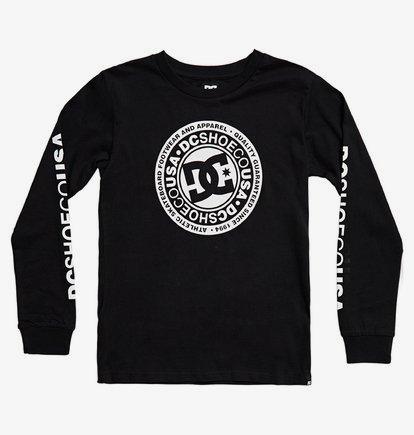 Circle Star - T-shirt manches longues pour Garçon 8-16 ans - Noir - DC Shoes